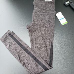Gaiam XS asphalt workout yoga pants Nwt